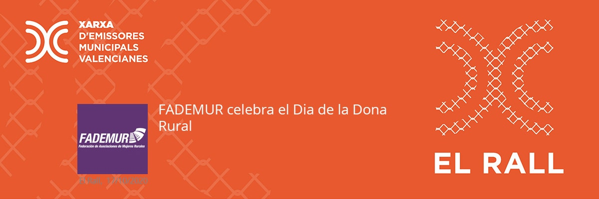 FADEMUR celebra el Dia de la Dona Rural