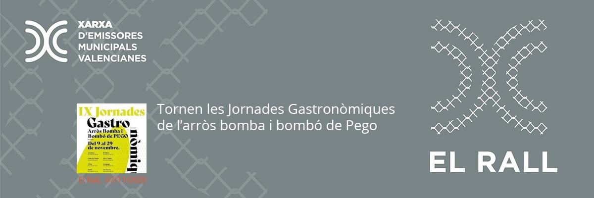Tornen les Jornades Gastronòmiques de l'arròs bomba i bombó de Pego